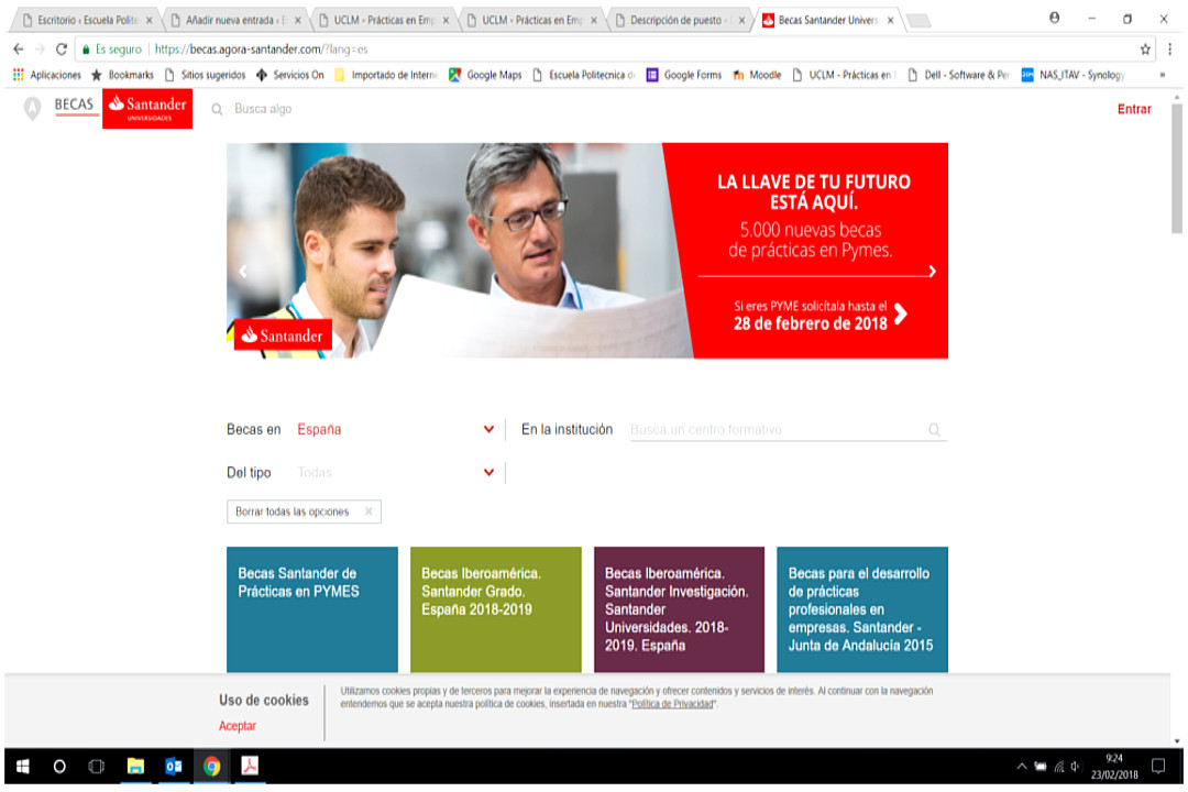 Becas Data Science Talent del Banco Santander (17/18)